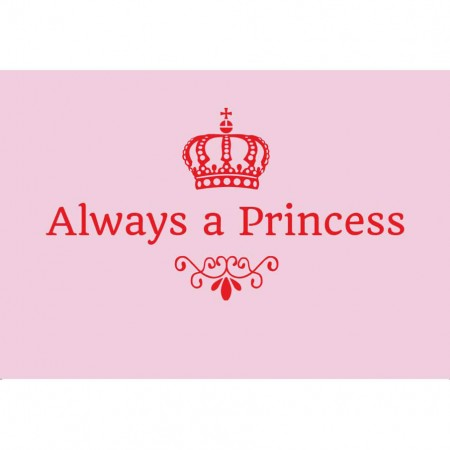 "Magnet ""Always a Princess"""